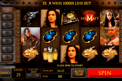 the mummy playtech slot machine