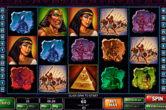 the pyramid of the ramesses playtech slot machine