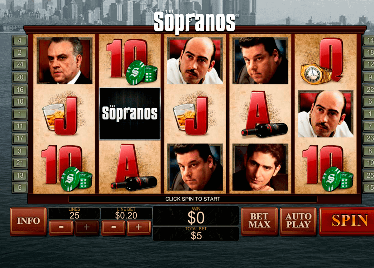 the sopranos playtech slot machine
