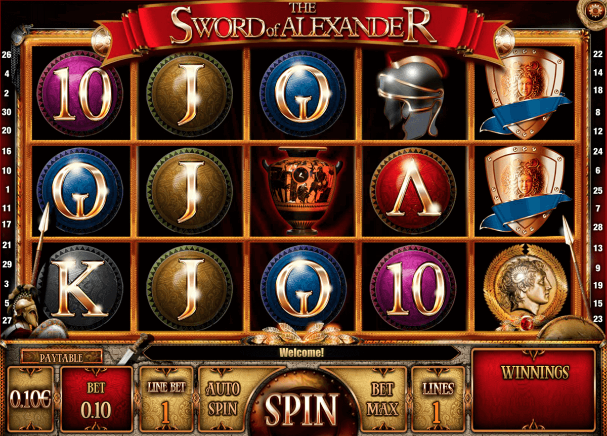 the sword of alexander isoftbet slot machine