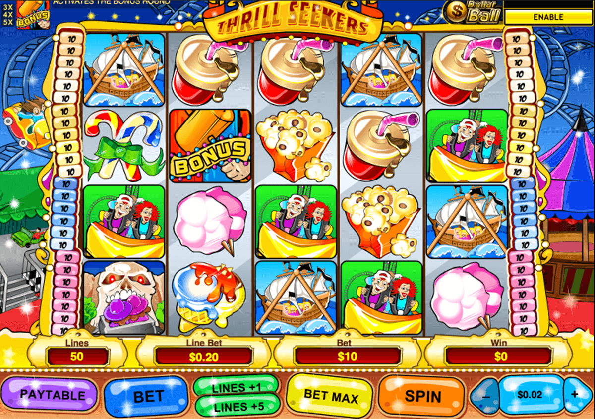 thrill seekers playtech slot machine