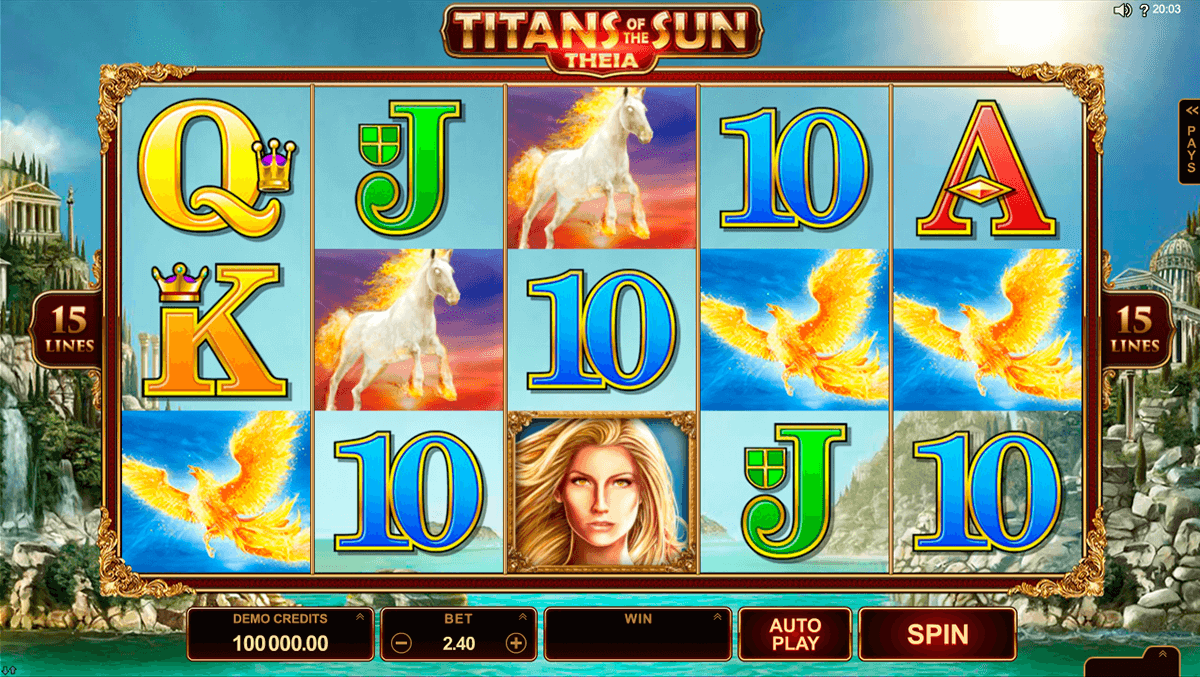 titans of the sun theia microgaming slot machine
