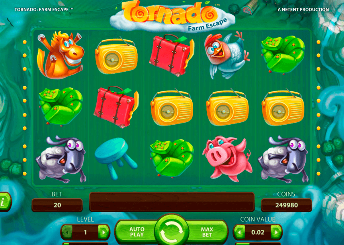 tornado netent slot machine