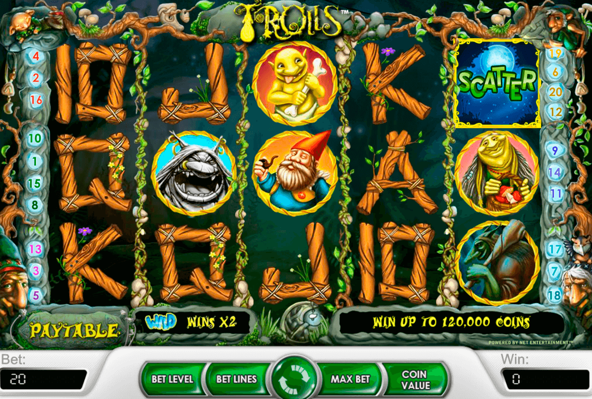 trolls netent slot machine