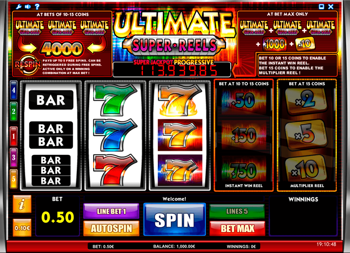 ultimate super reels isoftbet slot machine