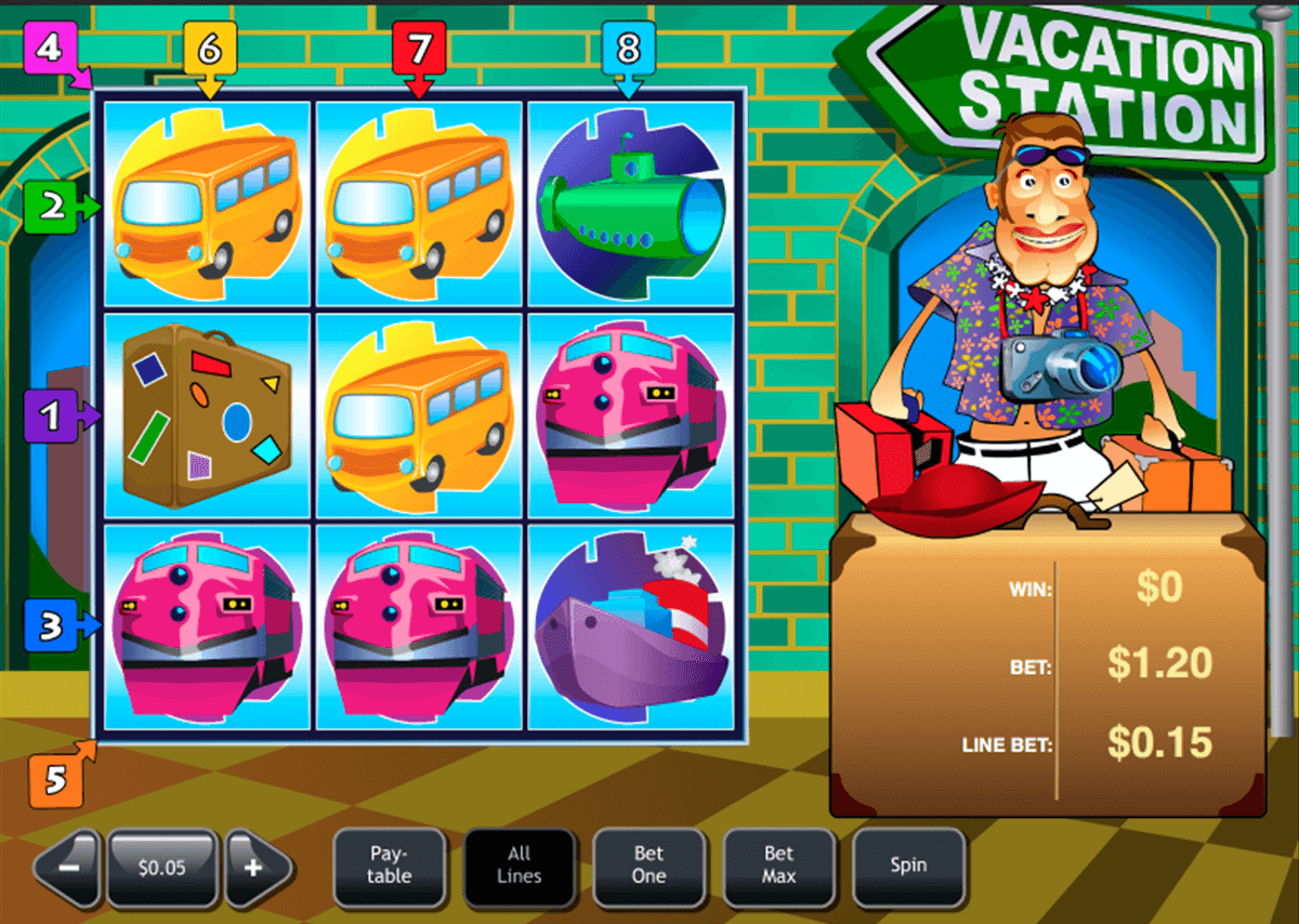 vacation station playtech slot machine