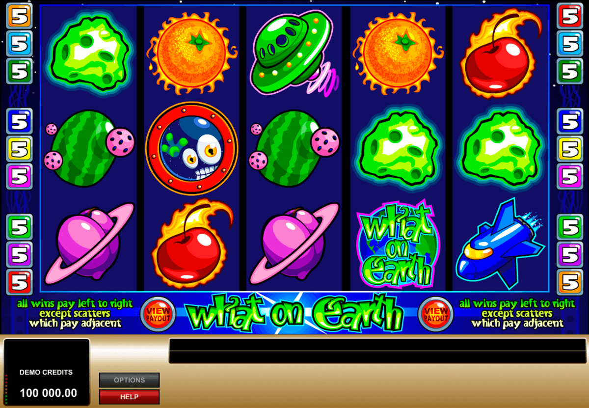 what on earth microgaming slot machine