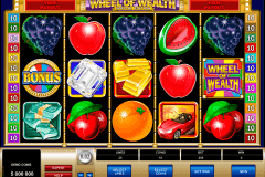 wheel of wealth special edition microgaming slot machine