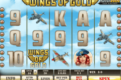 wings of gold playtech slot machine
