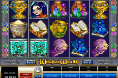 witches wealth microgaming slot machine