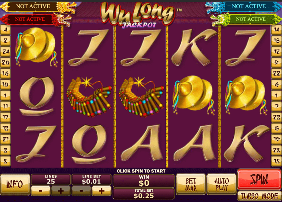 wu long jackpot playtech slot machine