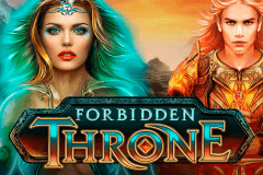 logo forbidden throne microgaming slot online