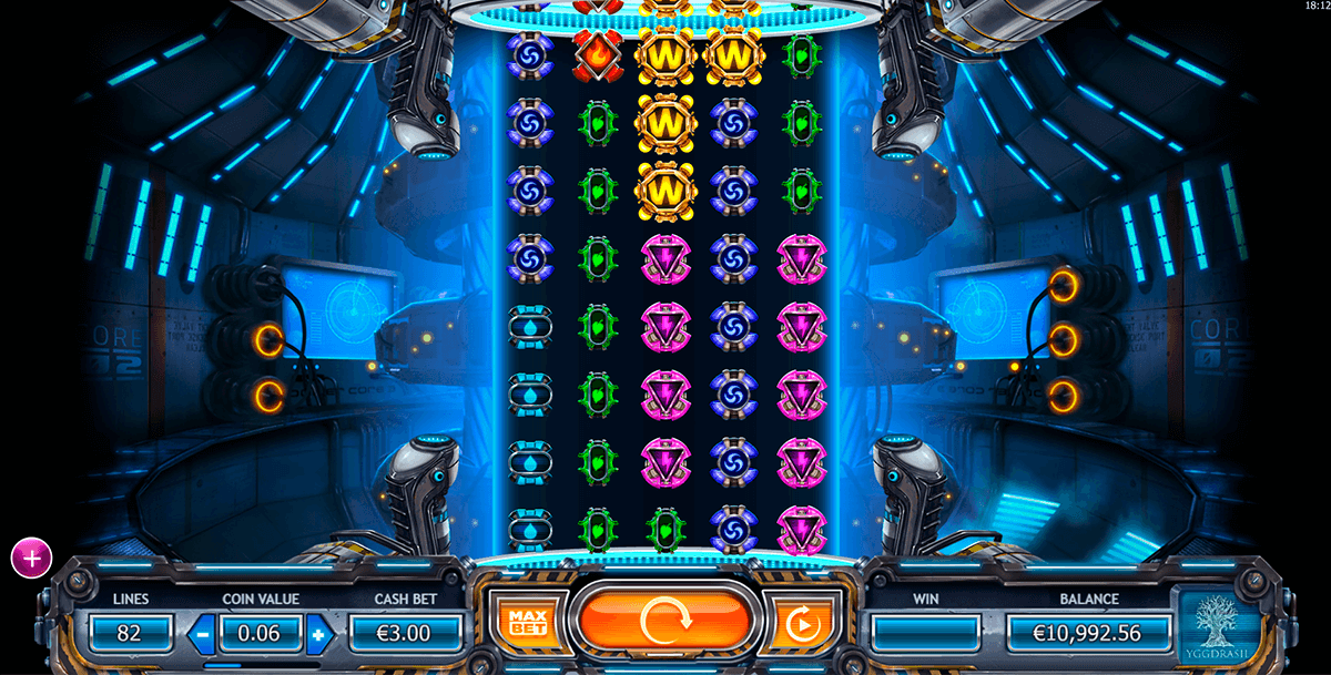 power plant yggdrasil slot machine
