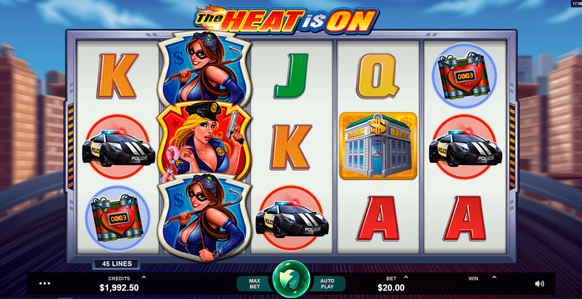 the heat is on microgaming slot machine
